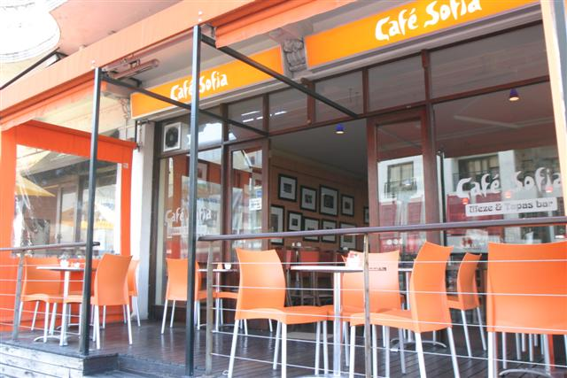 cafe sofia sea point in city bowl